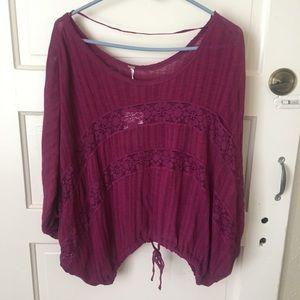 🏵 Plum Pullover Sweater